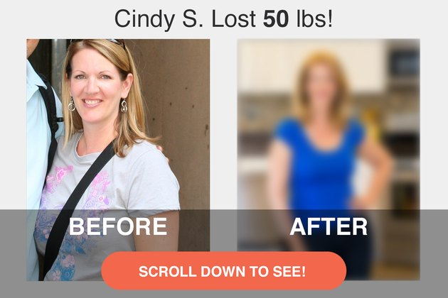 Read on to see Cindy's impressive transformation