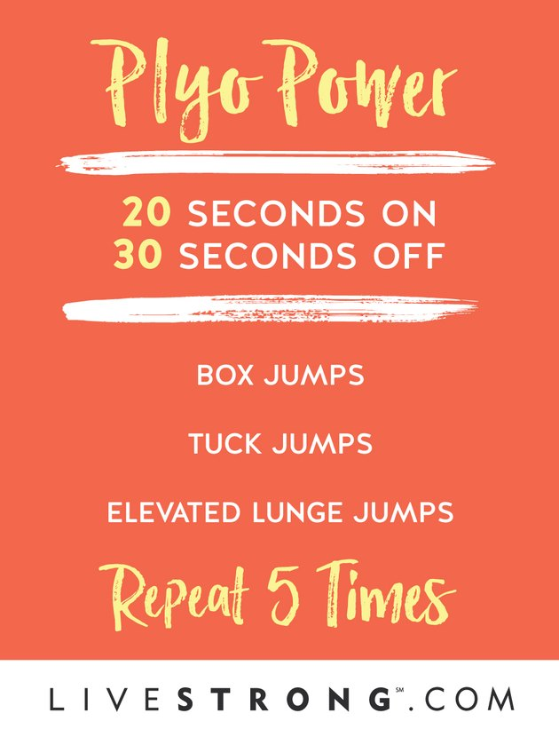 This plyo workout is tough but doable.