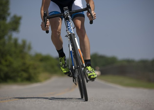 Bicycle riding builds cardiorespiratory fitness.