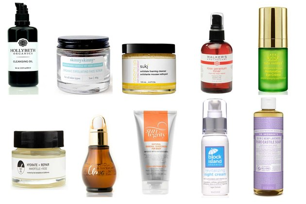 Best safe face and body products.