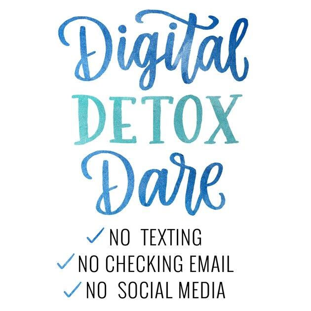 Take a digital detox this holiday season.