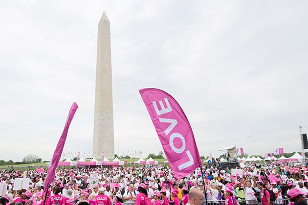 Susan G. Komen Race for the Cure charity race