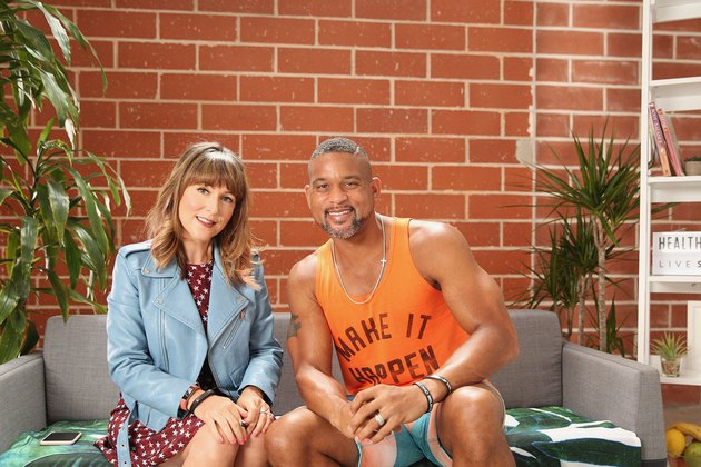 Shaun T and LIVESTRONG VP and GM Jess Barron