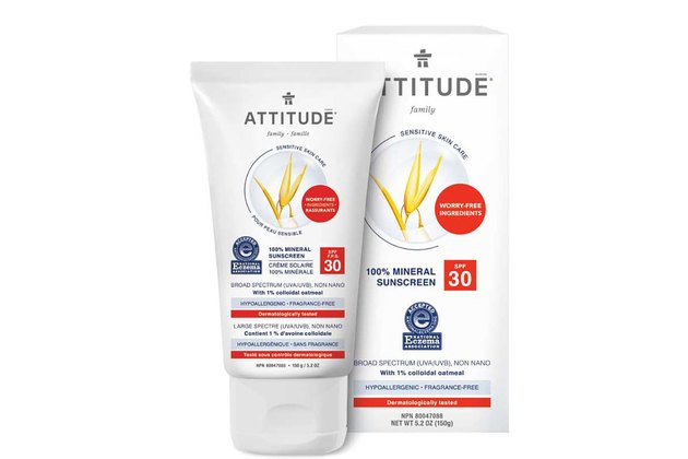 ATTITUDE Family Sensitive Skin Care Sunscreen SPF 30