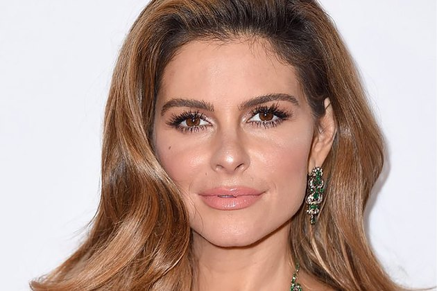 Maria Menounos on the red carpet at the 2018 Miss America Competition
