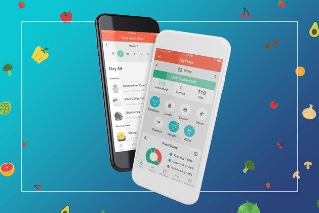 LIVESTRONG.COM MyPlate Calorie Tracker,=