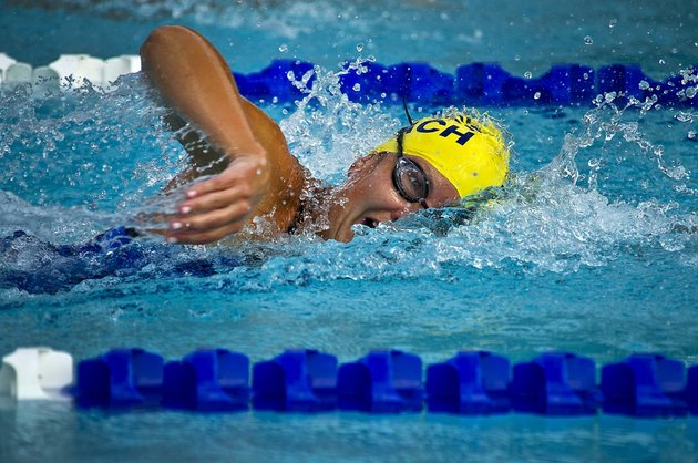 Swimming is a low-impact way to get fit.