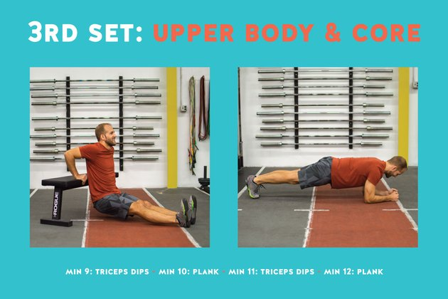 Who knew these two simple exercises could leave you so exhausted?