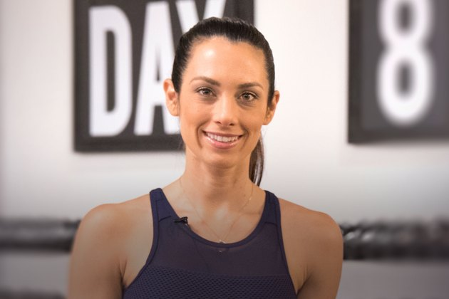 Beachbody trainer Autumn Calabrese for the Stronger Women series