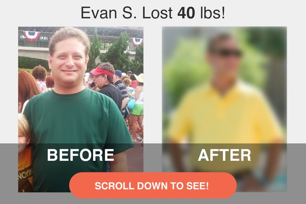 Evan lost inches and gained muscle in the 18 months since we originally shared his weight-loss story.