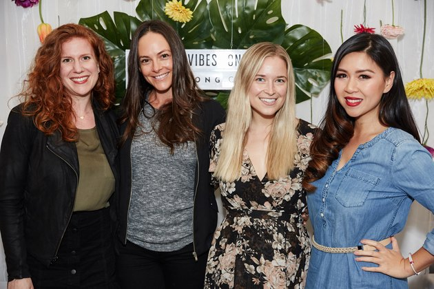 Lilly Diamond of Kale and Caramel, My Nguyen of @MyHealthyDish, Jordan Younger of @thebalancedblonde and Kelly Leveque of @BeWellByKelly.