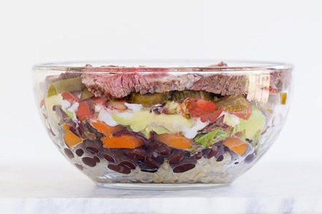Sirloin Tip Steak and Brown Rice Bowl