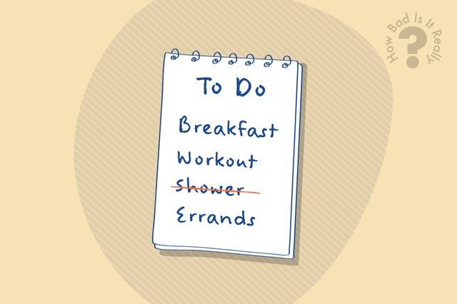 How Bad Is It Really to Not Shower After a Workout?