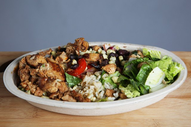 Chipotle Mexican Grill's Chicken & Black Bean Salad with Roasted Chili-Corn Salsa
