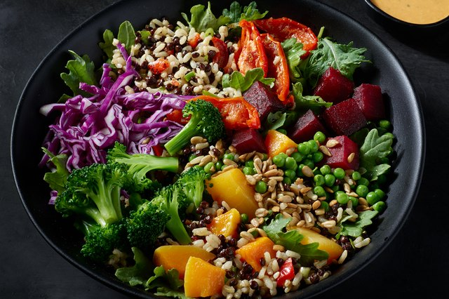 Starbucks' Lentils & Vegetable Protein Bowl With Brown Rice