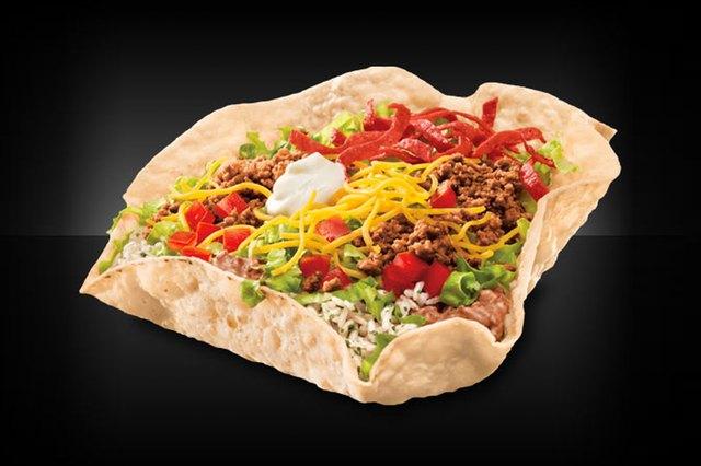 Taco Bell's Fiesta Taco Salad