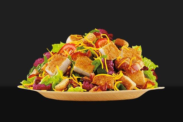 Burger King's Chicken Club Salad