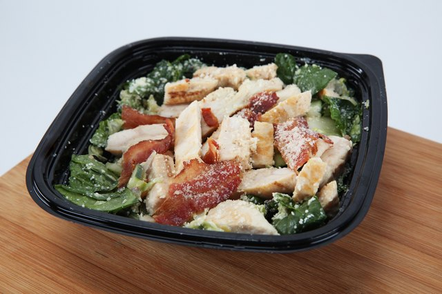 Subway's Chicken & Bacon Ranch Salad