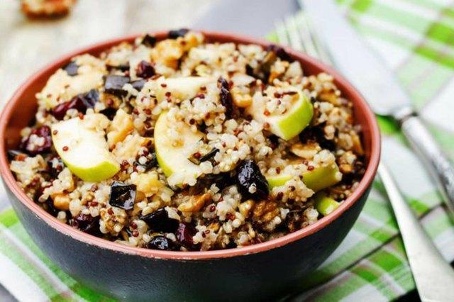 Quinoa Porridge high protein breakfast