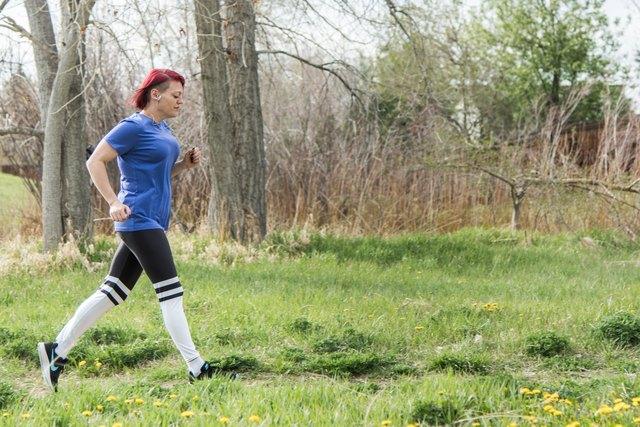 Alanna runs