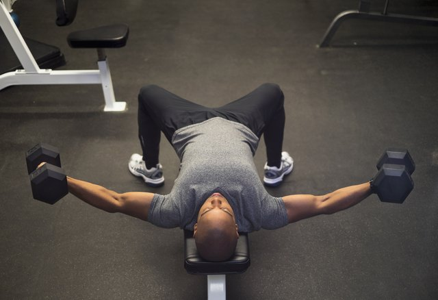 A Grueling Dumbbell Chest Workout That Doesn't Include a Single Push-Up