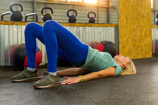 How to Do the Perfect Bridge Exercise for Maximum Glute Gains   Livestrong.com