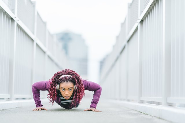 Can I Gain Muscle Mass by Doing Push-Ups? | Livestrong.com
