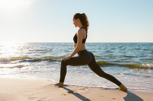 Lunges for a Rounder Butt