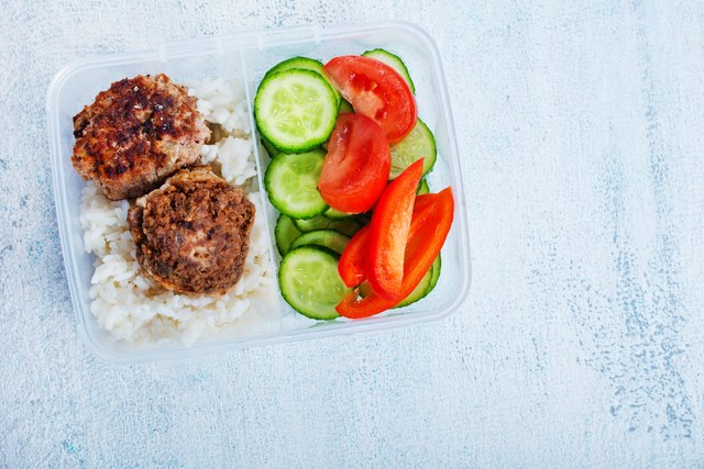food in lunchbox