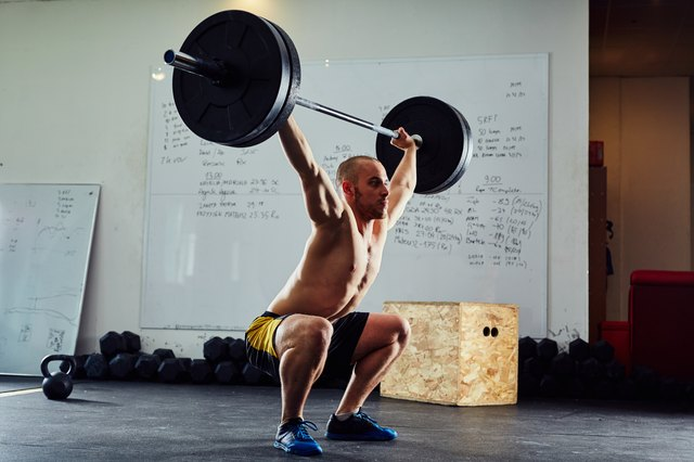 The clean and jerk exercise