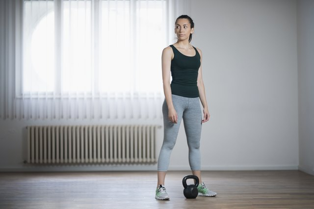 4 Swing-Free Kettlebell Exercises That Won't Hurt Your Back