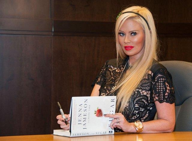 "Jenna Jameson Book Signing For ""Sugar"""