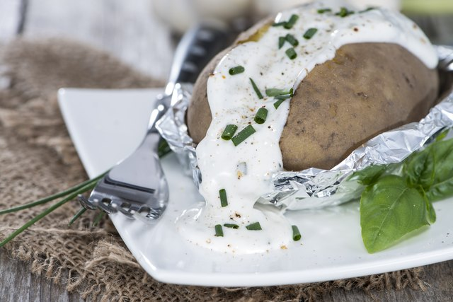 The Easiest Way to Bake a Potato in Foil