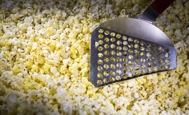 popcorn in the movie theater