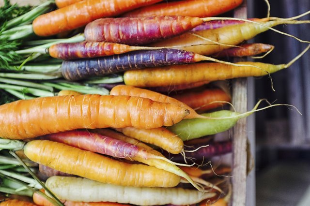 Rainbow Carrots / Fresh Carrots / Carrot varieties