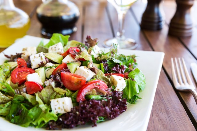Greek Mediterranean salad