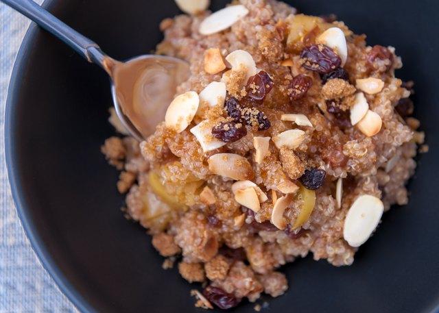 Quinoa Apple Cereal