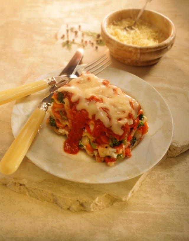 Calories in Veggie Lasagna