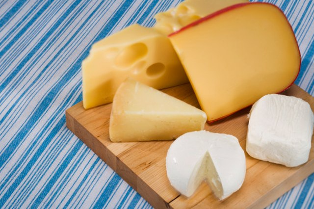 List of Cholesterol in Different Cheeses