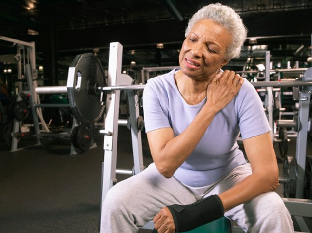 Burning Sensation in the Shoulder Muscles After Lifting Weights