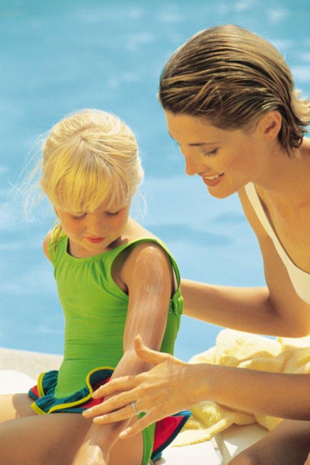 Sunburn That Leaves Permanent Pigmentation