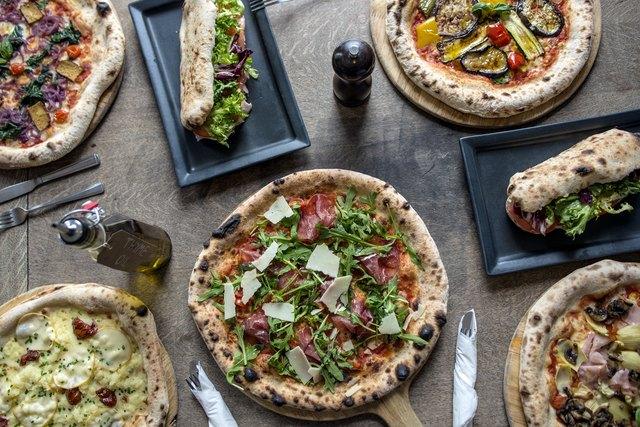 Rustic Italian Pizza and Bread