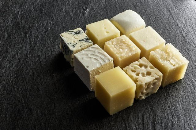 cheese in cubes