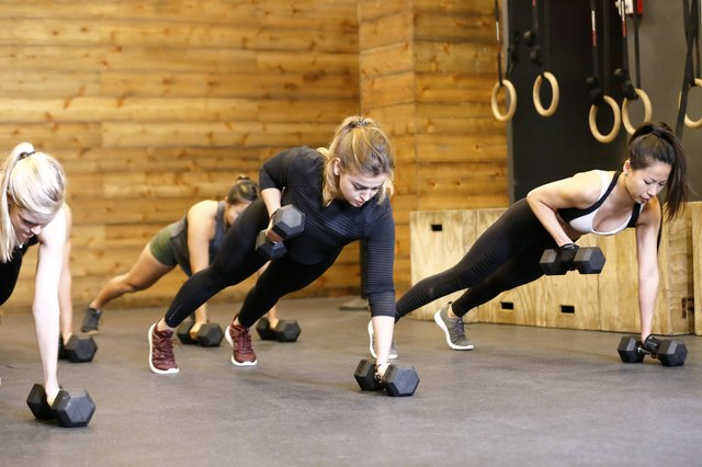 Women working out in Gym