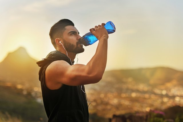 That work out made me thirsty