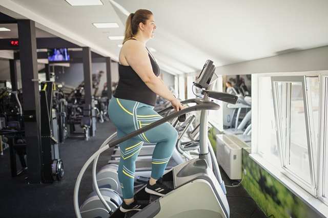 This Fat-Burning Stepmill HIIT Workout Only Takes 20 Minutes | Livestrong.com