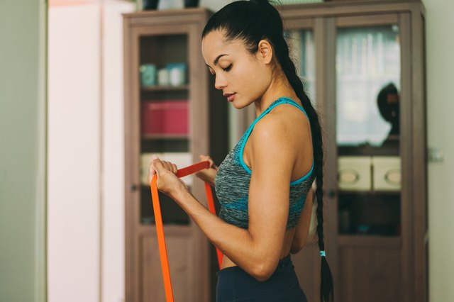 The Only 5 Resistance Band Exercises You Need for Toned Arms