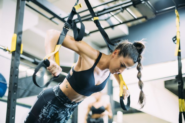 8 TRX Exercises to Try When All the Weight Machines Are Taken | Livestrong.com