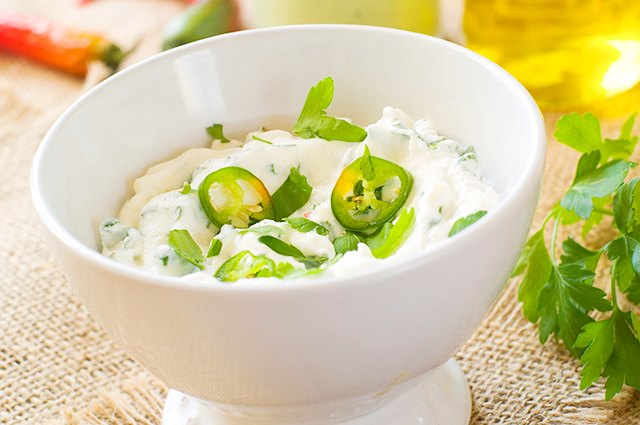 Ranch Dip Alternative with Cottage Cheese and Greek Yogurt