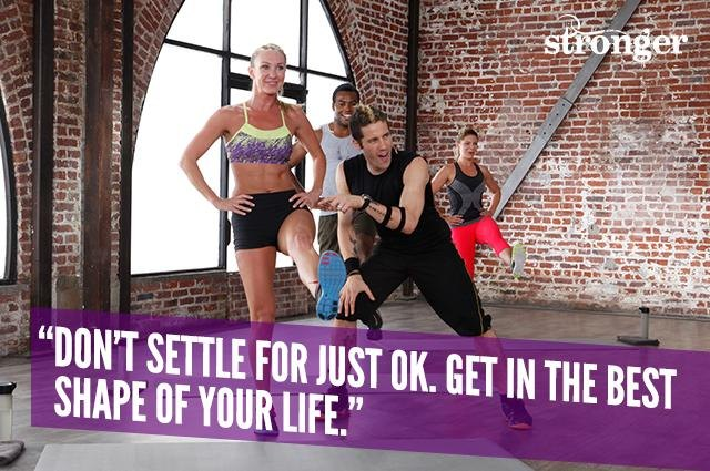 Don't settle for just OK. Get in the best shape of your life.